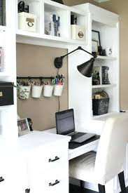 office shelving ideas. Charming Home Office Craft Room Reveal Space Supply Storage Ideas Decorating Floating Shelving