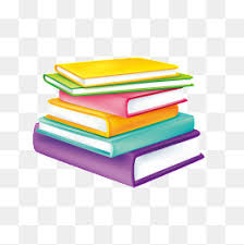 color cartoon books stacked together cartoon clipart color clipart cartoon books png image