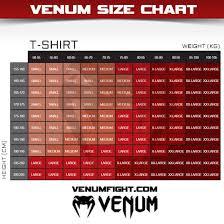 76 High Quality Venum Rashguard Size Chart