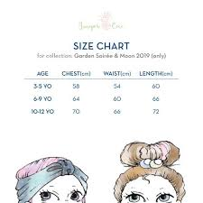 Size Chart Junipercoco