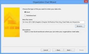 How To Create Organization Chart In Excel 2013 Microsoft Visio 2013 Using The Organization Chart Wizard