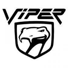 Viper Logo Mopar Dodge Chrysler Car Vinyl Decal By Decalstick Chrysler Cars Car Decals Vinyl Dodge Viper