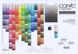 Color Family Chart Copic Marker Europe Copic Colour Chart Health Check