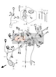 suzuki dl650 a v strom 2011 wiring harness dl650a e2 msp wiring harness dl650a e19
