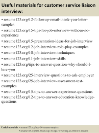 Customer Liaison Officer Sample Resume Fascinating Top 48 Customer Service Liaison Resume Samples