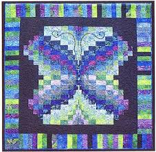 269 best images about Quilting on Pinterest | Quilt tutorials ... & Bali Butterfly Batik Quilt Pattern by KoolKat Quilting. Bargello Quilt  PatternsBargello ... Adamdwight.com