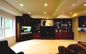Great Unfinished Basement Design Ideas Great Unfinished Basement - Finished basement ceiling ideas