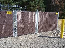 chain link fence slats brown. BROWN SLAT FENCE (1) Chain Link Fence Slats Brown C