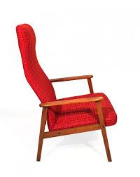 swedish teak lounge chair 1960s