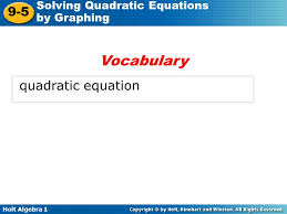 4 voary quadratic equation