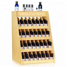 Essential Oil Display Stand Enchanting Essential Oils Bottle Product Wooden Countertop Table Flooring Layer