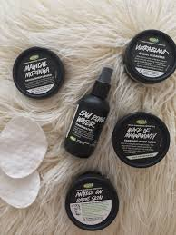 the only thing i don t use lush s for is to initially remove my makeup just because i love to use the garnier micellar oil infused cleansing water