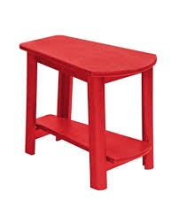 recycled plastic addy side table