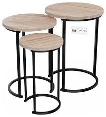 lavish home round nesting tables