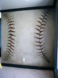 baseball wall murals baseball wall murals baseball mural this with the logo in the middle baseball baseball wall murals