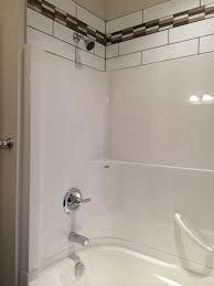 installation bathroom renovation 2 piece tub surround venco tub and shower surround