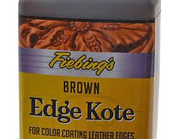 Edge Kote Fiebing 4oz 118ml In 7 Colors Leather Edge Etsy