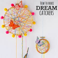 Diy Dream Catchers For Kids How To Make A DreamCatcher For Kids Fun And Colorful Craft Activity 51