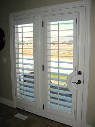 french doors with shutters. White French Door With Larger Panels Of Shutters Doors F