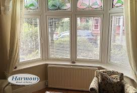 curtains to fit bay window inspirational café style perfect fit blinds in a bay window harmony