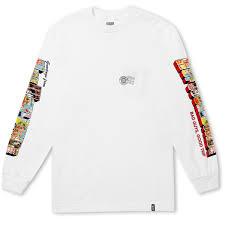 Huf Greetings Long Sleeve Pocket T Shirt Huf