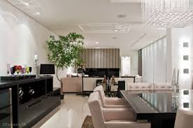 Open Kitchen And Living Room Design Design Ideas Black And White Open Plan Ding Room Living Room
