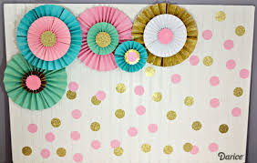 how to make paper rosettes darice 1