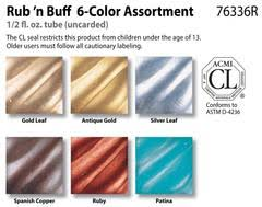 Rub N Buff 6 Color Sampler
