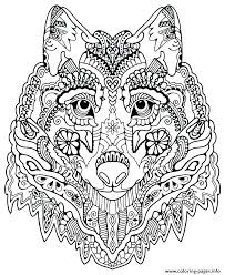 coloring pages mandalas printable coloring pages mandalas for experts mandala printable print cute wolf animal mandalas