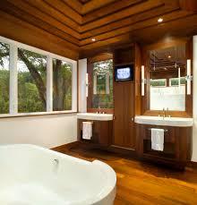 Dark Bathroom Cabinets Built In Bathroom Cabinets Bathroom Transitional With Built In