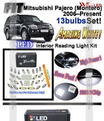 Mitsubishi Montero Interior Lights Lighting Lamps 15pcs Xenon White Led Interior Light Kit