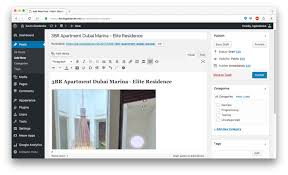 save the post page and you virtual tour will be integrated in your