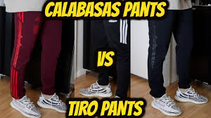 Adidas Tiro 13 Pants Size Chart Adidas Yeezy Calabasas Track Pants Sizing Vs Adidas Tiro Pants