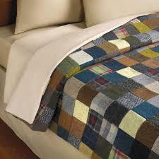 The Genuine Irish Tweed Patchwork Quilt - Hammacher Schlemmer &  Adamdwight.com