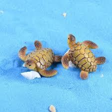 ZOCDOU 1 Piece Sea Turtle Tortoise Turtle Small Statue <b>Home</b> ...