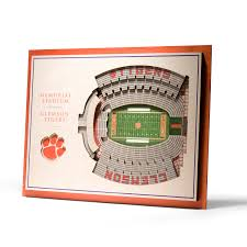 Clemson Tigers 5 Layer You The Fan Touch Of Modern