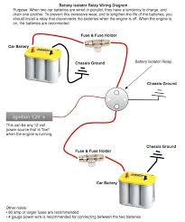 battery isolator help! teamtalk Perko Dual Battery Switch Wiring Diagram Dual Battery System Wiring Diagram