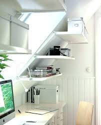 decorating a slanted wall bedroom with slanted walls thinking of putting one of these shelves in decorating a slanted wall