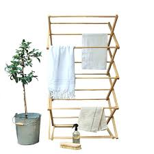 wooden drying rack wall mounted for clothes wooden drying rack