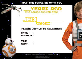 star wars birthday invite template download now blank star wars birthday invitation template download