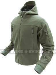 Condor Tactical Sierra Micro Fleece Jacket W Hood Od