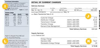 National Grid Customer Service New Bill