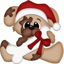 christmas dog bone clipart. Exellent Clipart Christmas Puppy With Dog Bone Pnc  Things L Can Make Out Of Wood  Pinterest Christmas Silhouette Design And In Dog Bone Clipart R
