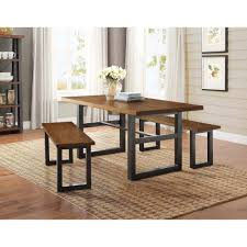Better Homes And Garden Kitchens Better Homes And Gardens Mercer Dining Table Vintage Oak Finish