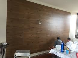 choose a rectangular section of the wall to clad it can be tricky to cover the entire wall with panels because you don t want to be cutting the panels to
