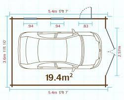 standard garage door dimensions for standard single car garage door size
