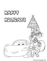 You can easily print or download them at your convenience. Disney Cars With Christmas Santa Claus Coloring Pages Printable