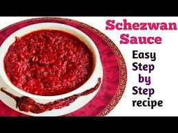 how to make schezwan sauce at home schezwan chutney recipe easy step by step