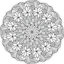 Mandala Design Coloring Pages Domlinkovinfo