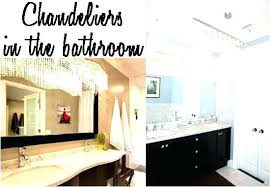 chandeliers for bathroom small audacious crystal chandelier mini modern con chandeliers for bathroom